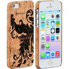iPhone 5 Cork Case Filigree