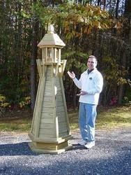 wooden lighthouse free plans