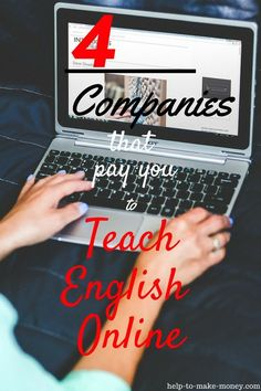 Make Money Teaching English Online! Many companies are hiring enthusiastic people like you, even if you do not have experience in the field. Excellent Part-time, Full-Time Job opportunity to work from home. Check it out here! #workfromhome #makemoneyfromh
