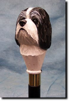 Havanese Dog Walking Stick Our unique selection of handpainted Dog Breed Walking Sticks is sure to please the most discriminating Dog Lover! Be the envy of everyone with this unique canine walking sti