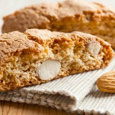 A classic almond biscotti recipe, also known as cantuccini cookies.. Almond Biscotti Recipe from Grandmothers Kitchen.