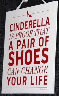 Shoe truth!