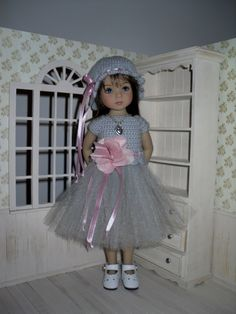 Set for Dianna Effner Little Darling 13 inches doll - blouse, skirt, hat and necklace. by LittleGiftCove on Etsy https://www.etsy.com/listing/260513355/set-for-dianna-effner-little-darling-13
