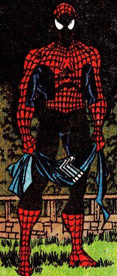 S P I D E R - M A N IN Amazing Spider-Man #333 (June 1990) Erik Larsen (pencils), Mike Machlan (inks) & Bob Sharen (colors)