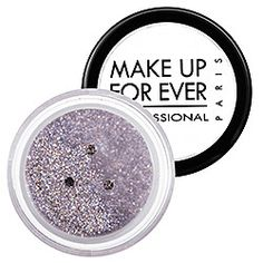 MAKE UP FOR EVER - Glitters in Multicolored Silver 13 - multi-colored silver glitter  #sephora