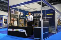 Ripleys Tools ECOC London 2013 Shell Scheme & Graphics