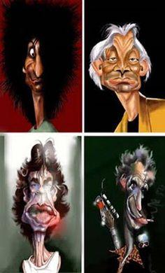 Cartoons - Caricaturas de famosos | StreS'sNet
