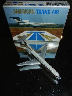 ATA Ameican Trans Air Schabak 1:600 B727