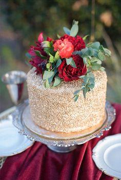 Цвет свадьбы 2015 — изысканный бордо