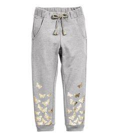 H&M / Butterfly sweatpants, size 9-10, $15