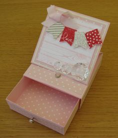 Lovely Pink 3d easel card