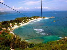 Labadee Haiti (Longest Zip Line over the ocean)