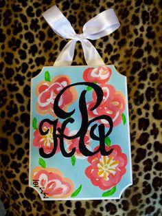 --> :: my favorite sorority craft for phi sig - personal monogram