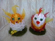 Easter chickens / Wielkanocne kurczaczki