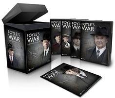 Foyle's War The Complete Saga (DVD, 2015) Season 1 2 3 4 5 6 7 8 Foyles NEW Sale freeship