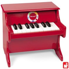 Vilac Red Piano With Scores Toddler/Child Music Instrument Wooden Toy Song New The Piano, Kids Piano, Flute Instrument, Instruments, Music Pics, Musical Toys, Shops, Music For Kids, Pianos