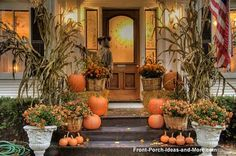 {great porch!} Fall