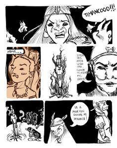 Comic - Segundo Trabajo: La Cacica Gaitana - Juanita Chavarro