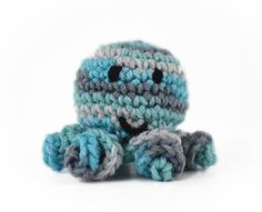 This Octopus catnip cat toy is sure to drive your kitty crazy! This octopus is the perfect size for your kitty to throw around the house. The curly