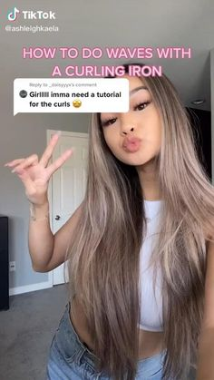 90s Grunge Hair, Short Grunge Hair, High Ponytail Hairstyles, Easy Hairstyles For Long Hair, Oily Hair Hairstyles, Curly Hair Tutorial, Blowout Hair Tutorial, Hair Curling Tutorial, Brown Blonde Hair