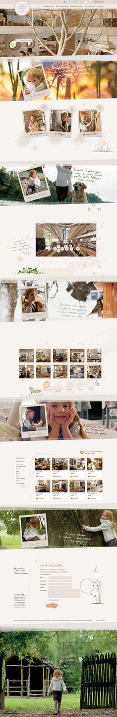Unique Web Design, Le Stanze Di Ann @carlos7801 #WebDesign #Design (http://www.pinterest.com/aldenchong/)