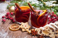 Vianočný punč z červeného vína