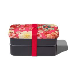 (99+) Fab.com | Bento Box Rectangle Floral Pink