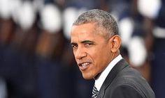 Hunky Barack doin the Clint  The Guardian
