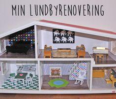 Min renovering av Lundby dockskåp