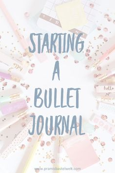Learn everything about starting a bullet journal today! READ MORE! #startingabulletjournal #diybulletjournal