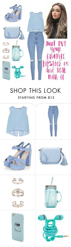 """Untitled #206"" by itsafagh ❤ liked on Polyvore featuring Steve J & Yoni P, Glamorous, Kate Spade, Topshop and ALADDIN"