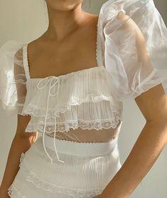 For Love & Lemons Posie Mini Dress Casual Outfits, Cute Outfits, Fashion Outfits, Fashion Capsule, 2000s Fashion, Ootd Fashion, Ladies Fashion, Casual Dresses, Womens Fashion