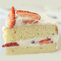 "Japanese Strawberry Shortcake - This Japanese version of an American classic is so worth the effort! The recipe, submitted by La Fuji Mama, was a winner of the ""Most Romantic Recipe"" Contest. Give it a try and you'll see why!"