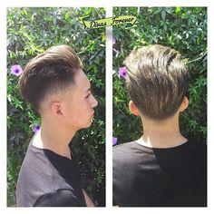 IMPECABLE e ILUMINADO quedo el nuevo #freestyle y #cortedepelo para Alonso  Te pasaste @dai_chaucherita  #haircutformen #barbershop #cortedecabello #newhair #men #menchile #haircut #haircuts