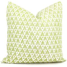 (SPRING look : 20 x 20 large sofa pillows) Quadrille Green Volpi Pillow Cover Square, Eurosham or Lumbar pillow, Accent Pillow, Throw Pillow, Toss Pillow, Quadrille pillow