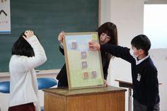 湯原小学校訪問(3)