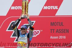 Jack Miller won his first GP in the premier-class at Assen. The Honda Pilot wants to follow the footsteps of the great Moto GP Australian Champions.