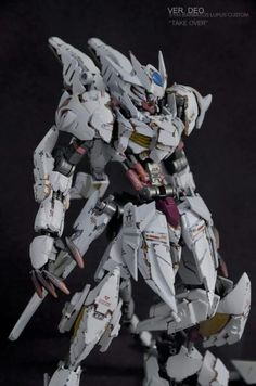 From the modeler... This is my entry on a local group's 8th build-off competition. Concept: The design revolves around the idea of Barbatos/Mika's rage moment after Orga's death. Manifesting Mika's intense emotion to the machine through Alaya-Vijnana System. Modifications: Kitbash, scratch build, putty works. Paints