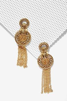 Olympic Glory Chain Earrings