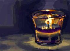 Γιατί ανάβουμε καντήλι στους τάφους; Candle Jars, Candle Holders, Candles, Shot Glass, Tableware, Quotes, Trust, God, Quotations