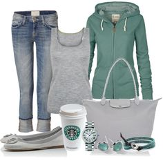 Weekend Casual, created by michellesolinas on Polyvore