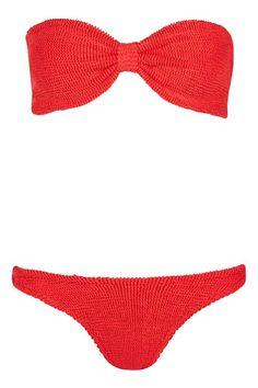 **Bandeau Bikini Set by Hunza G