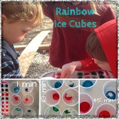 All About Rainbows! Cute Activities, Ice Cubes, Very first rainbow book-Free, Download, Preschool, Toddler, St.Patrick's, homeschool, colors, experiments, science
