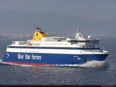 Blue Star ferries  #ferries #travel #Greece #Italy