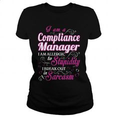 compliance manager-WOMEN - #hoodie #sleeveless hoodie. I WANT THIS => https://www.sunfrog.com/LifeStyle/compliance-manager-WOMEN-Black-Ladies.html?60505