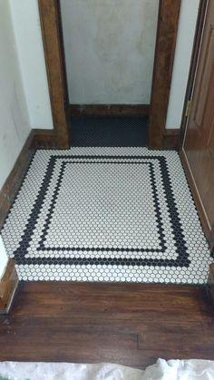 Master Bath Remodel, Master Bathroom, Cedar Window Boxes, Foyer, Entryway, Porch Tile, Hex Tile, Entrance Ways, Vestibule