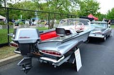 1959 Chevy and matching boat.