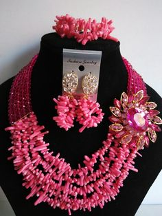 Find More Jewelry Sets Information about 2016 Fashion african coral beads jewelry set pink nigerian wedding african beads jewelry Sets Free shipping GG 130,High Quality jewelry bikini,China jewelry store Suppliers, Cheap jewelry sold from Chinese jewelry import and export co., LTD on Aliexpress.com