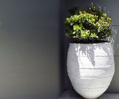Dagar Eski. Gorgeous and rustic, these seriously old unglazed planters (ranging from 150-200 years old) from Turkey, will add warmth and character to any outdoor space.
