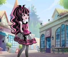Azael Olmos - Draculaura in ever after high??? *UPDATE* i drew...